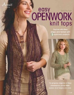 Easy Openwork Knit Tops (Paperback)