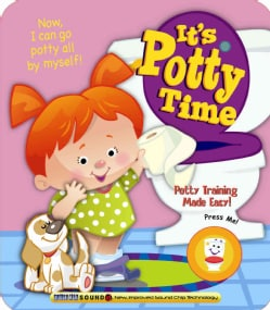 It's Potty Time for Girls (Board book)