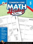 Common Core Math 4 Today, Grade 5: Daily Skill Practice (Paperback)