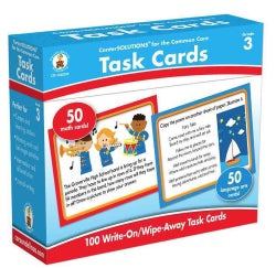 Task Cards, Grade 3: 50 Math Cards/ 50 Language Arts Cards (Cards)