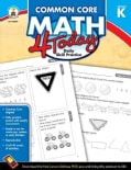 Common Core Math 4 Today, Grade K: Daily Skill Practice (Paperback)