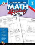 Common Core Math 4 Today, Grade 2: Daily Practice Skills (Paperback)
