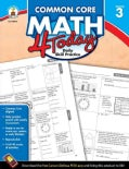 Common Core Math 4 Today, Grade 3: Daily Skill Practice (Paperback)