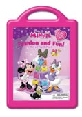Minnie Fashion and Fun: Book and Magnetic Playset