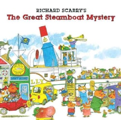 Richard Scarry's the Great Steamboat Mystery (Paperback)