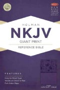 Holy Bible: New King James Version Giant Print Reference Bible, Purple, Leathertouch (Paperback)