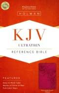 Holy Bible: King James Version, Pink, LeatherTouch, Ultrathin, Reference (Paperback)