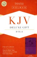 Holy Bible: King James Version Bible, Purple, LeatherTouch (Paperback)