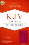 Holy Bible: King James Version, Pink, LeatherTouch, Giant Print, Reference (Paperback)