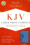 Holy Bible: King James Version, Reference, Teal, Leathertouch (Paperback)