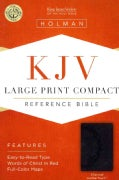 Holy Bible: King James Version, Reference, Charcoal, Leathertouch (Paperback)