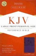 Holy Bible: King James Version Bible, Purple, LeatherTouch Personal Size (Hardcover)