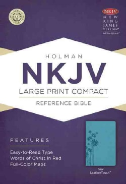 The Holy Bible: New King James Version Reference Bible, Teal, Leathertouch (Paperback)