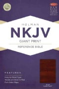 Holy Bible: New King James Version Giant Print Reference Bible, Brown, Leathertouch (Paperback)