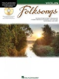Folksongs: Instrumental Play-along for Violin