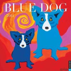 Blue Dog 2014 Calendar (Calendar)