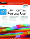 101 Law Forms for Personal Use (Paperback)