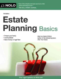 Estate Planning Basics (Paperback)