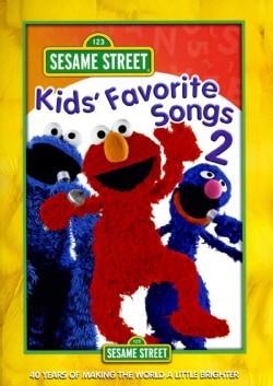 Sesame Street: Kids' Favorite Songs 2 (DVD)