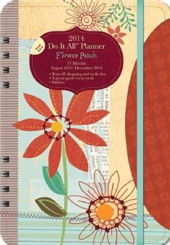 Flower Patch 17 Months 2014 Do It All Planner: August 2013 - December 2014 (Calendar)