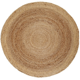 Tara Braided Natural Jute Rug (8' Round)