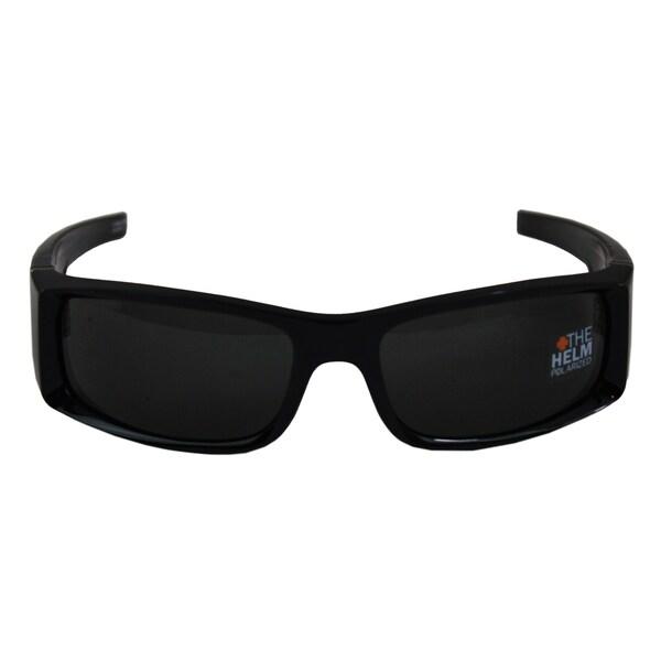 Spy Optic Men's 'Hielo' Black Polarized Sunglasses
