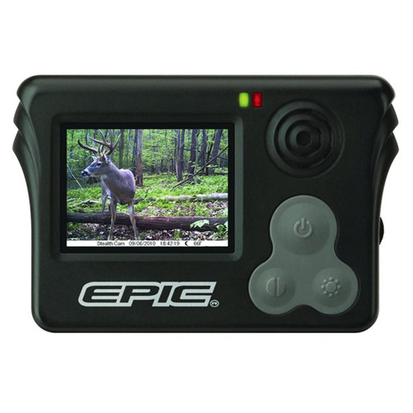 Stealth Cam 2-inch Color LCD Epic Viewer Game Camera 10783546