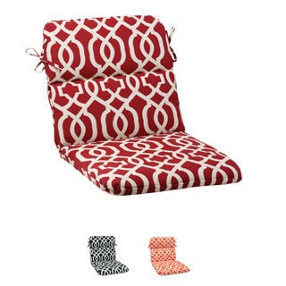 Pillow Perfect Outdoor New Geo Rounded Chair Cushion