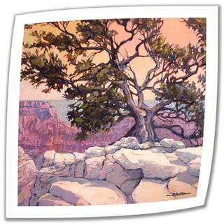 Rick Kersten 'North Rim Tree' Unwrapped Canvas
