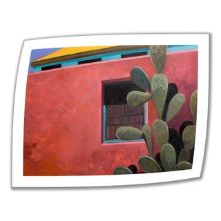 Rick Kersten 'Adobe Color' Unwrapped Canvas