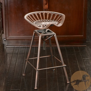 Christopher Knight Home Chapman Saddle Copper Barstool