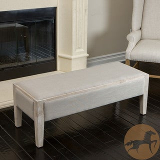 Christopher Knight Home Legion Sage Fabric Bench