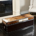 Arizona Cowhide Storage Trunk
