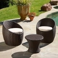 Christopher Knight Home La Jolla 3-piece Chat Set