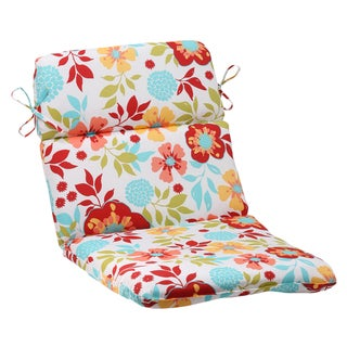 Pillow Perfect Multi Outdoor Maya Rounded Chair Cushion