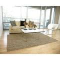 Handwoven Eternity Natural Jute Loop Rug (8' x 10')