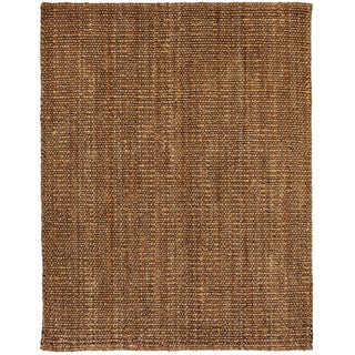 Handwoven Eternity Natural Jute Loop Rug (4' x 6')