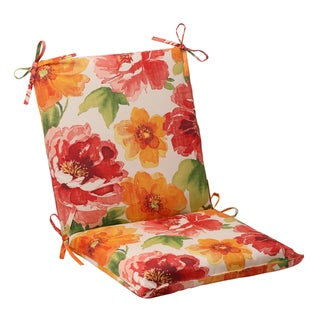 Pillow Perfect Outdoor Primro Orange Chair Cushion