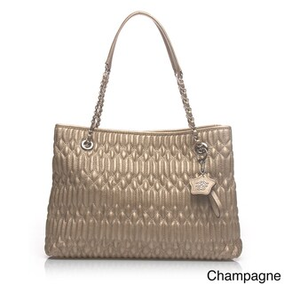 Jessica Simpson 'Pretty Whisper' Quilted Tote Bag