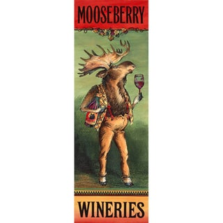 Unframed 'Mooseberry Wineries' Print