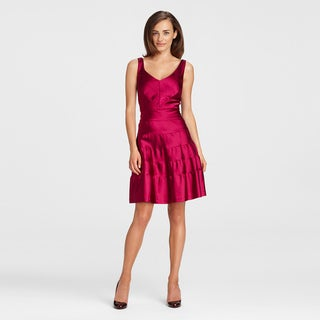 Maggy Boutique Women's Elderberry Sleeveless Banded Dress