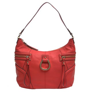 Franco Sarto 'Gatsby' Leather Hobo Bag