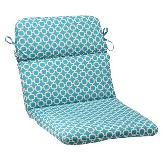 Pillow Perfect Outdoor Hockley Teal Chair Cushion