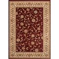 Woven Wilton Red Traditional Persian Rug (7'10 x 10'2)