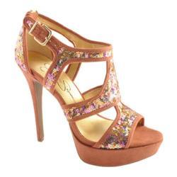 Women's Jessica Simpson Bruno Golden Rose Sparkle Fabric