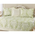 Laura Ashley Rowland Green 5-piece Daybed Set