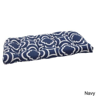 Pillow Perfect Outdoor Carmody Wicker Loveseat Cushion