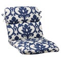 Pillow Perfect Navy Outdoor Bosco Rounded Chair Cushion