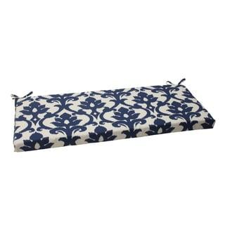 Pillow Perfect Bosco Polyester Navy Outdoor Bench Cushion