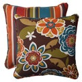 Pillow Perfect Outdoor Annie Square Throw Pillows (Set of 2)